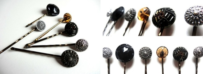 Button-Bobbypins