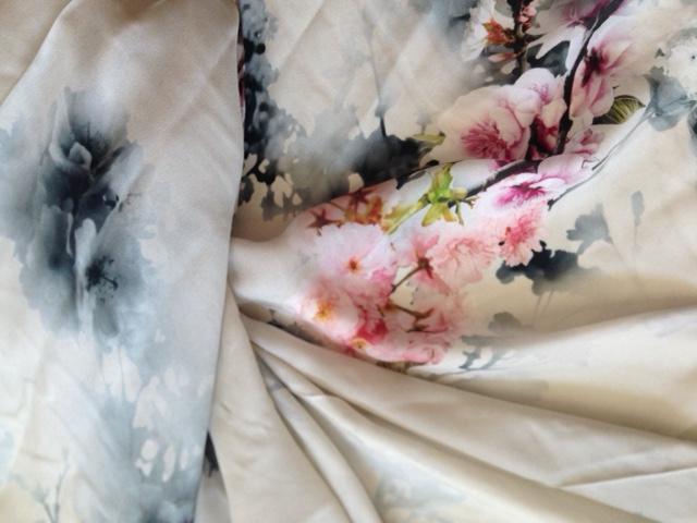 Crêpe de Chine Kimono