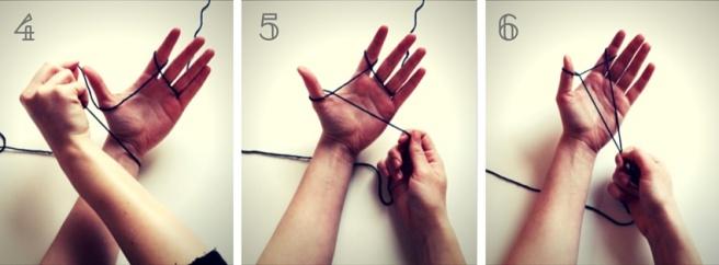 Anleitung: Maschen aufnehmen beim Stricken