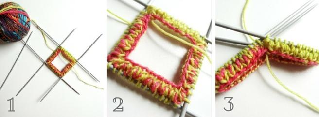Anleitung: Socken stricken Teil 1– Bündchen und Ferse