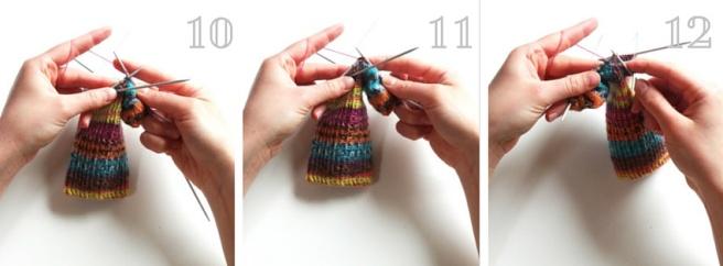 Socken stricken 16