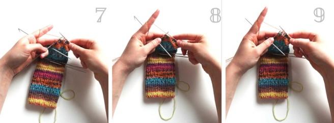 Anleitung: Socken stricken Teil 2 – Abschluss der Ferse