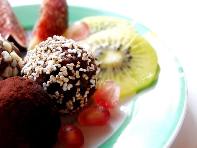 vegane energiebomben datteln erdnüsse rezept kakao 5