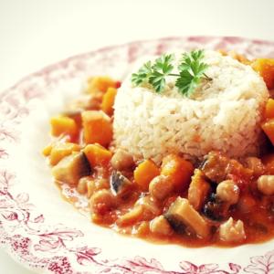veganes kuerbis curry rezept vegan food