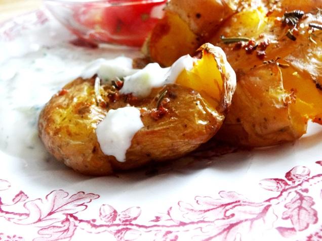 geile ofen kartoffeln tzatziki rezept vegan 14