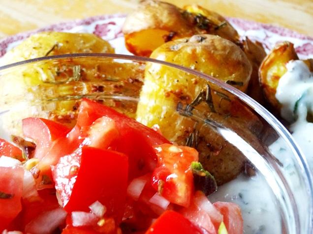 geile ofen kartoffeln tzatziki rezept vegan 17