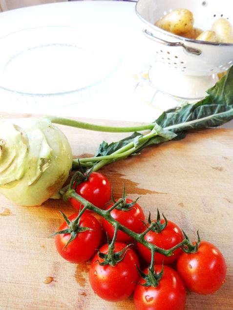 Kartoffel tomaten rezept vegan