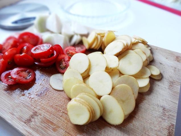 kartoffel kohlrabi tomaten gratin vegan rezept 5