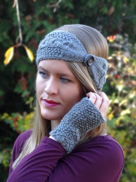 unverwechselbarer Stil klar und unverwechselbar Original wählen Anleitung: Knöpf-Stirnband stricken | Lisibloggt