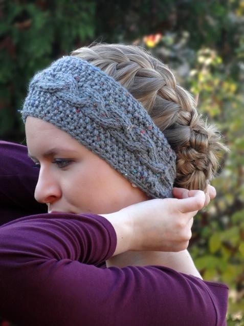 Anleitung: Knöpf-Stirnband stricken   Lisibloggt