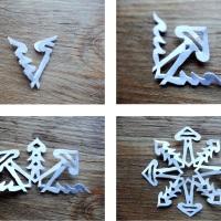 Anleitung: Papier-Schneeflocken basteln