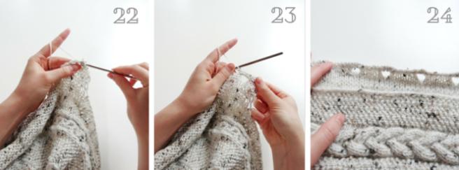 damenjanker stricken kragen und knopfleiste 8