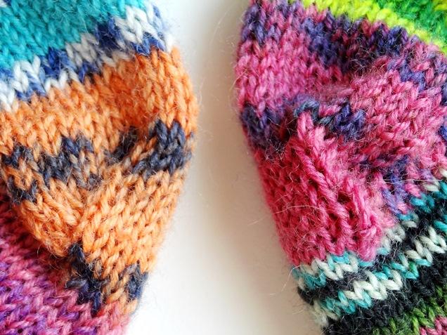 Lisitipps: Damensocken, Männersocken – wieviele Maschen braucht man wofür?