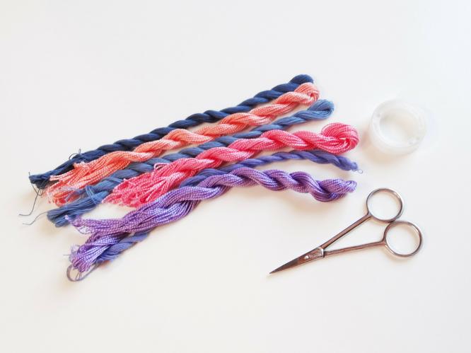 Anleitung: DIY Friendship bracelet   Lisibloggt