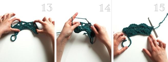 Anleitung: Muschelmuster Häkeln für Anfänger