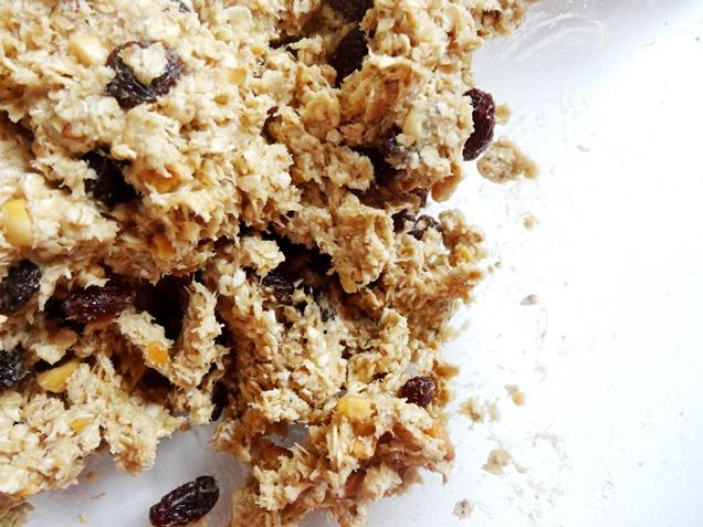 rezept vegan glutenfrei bananen haferflocken chunks erdnussbutter3