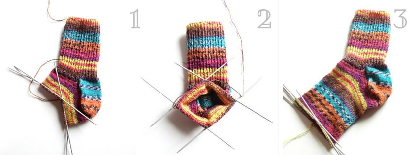 Anleitung Socken Stricken Teil 4 Mittelteil Und Spitze Lisibloggt