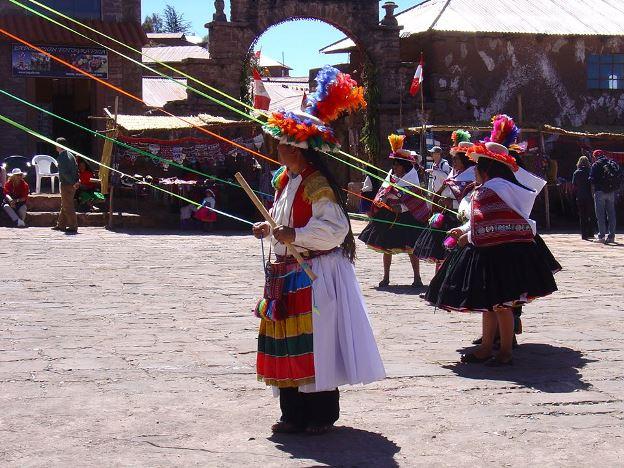 strickende Maenner Peru 1