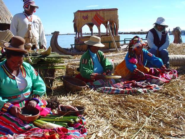 strickende Maenner Peru 2