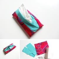 Anleitung: Taschentuch-Täschchen nähen
