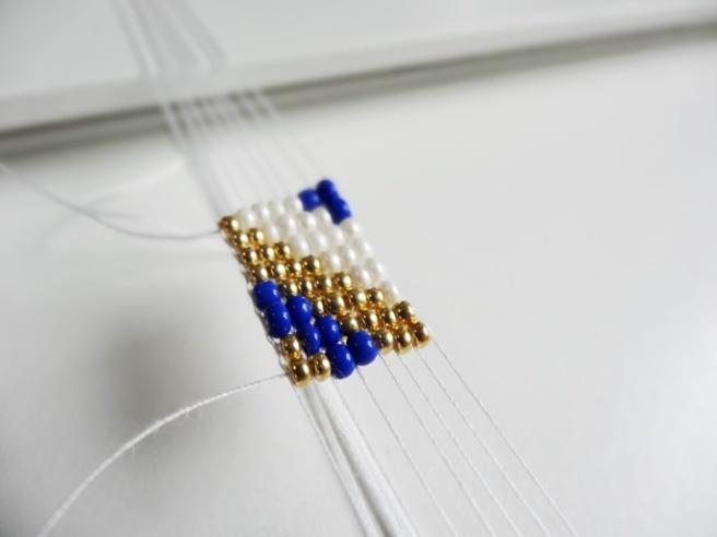 Anleitung: Perlenarmband weben