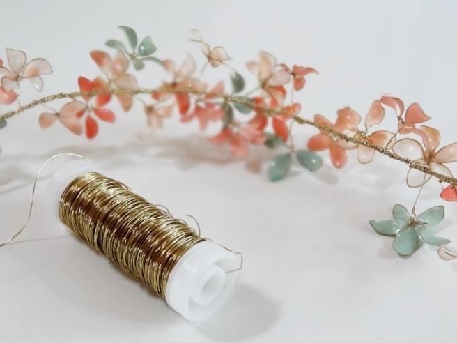 Warum niemand aus seiner (DIY-) Haut kann oder muss - Blumenkranz mit Nagellack