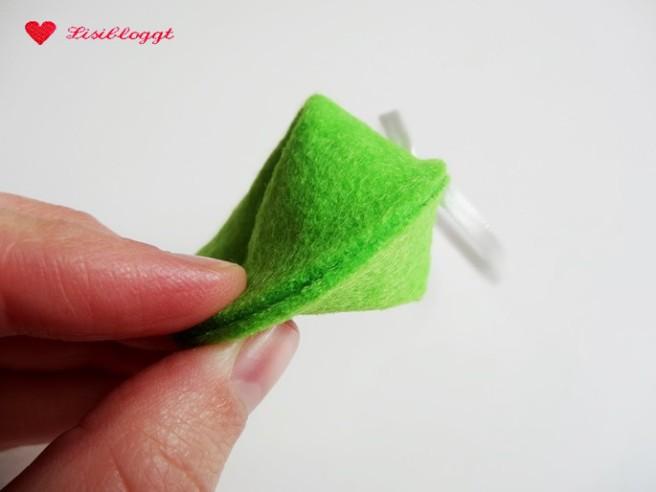 Anleitung: Glückskekse aus Filz basteln