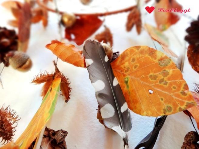 Anleitung: Herbstlicher Traumfänger