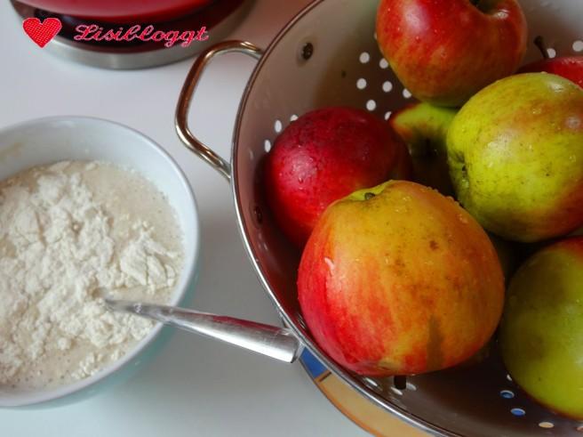 Rezept: Veganer Apfelkuchen mit Streuseln