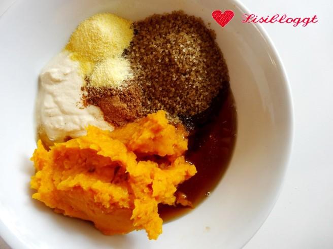 Rezept: Kürbiskuchen (vegan, glutenfrei)