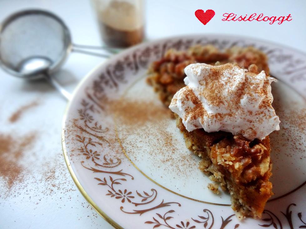 Rezept Kurbiskuchen Vegan Glutenfrei Lisibloggt