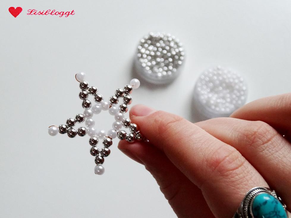 Anleitung Perlensterne Mit Draht Basteln Lisibloggt