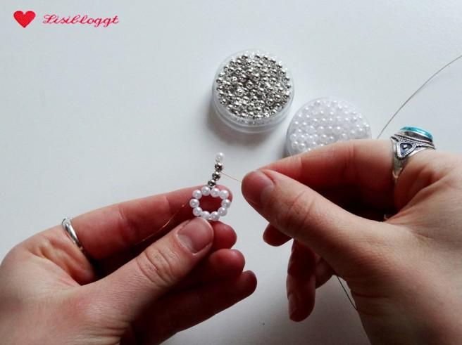 Anleitung: Perlensterne mit Draht basteln