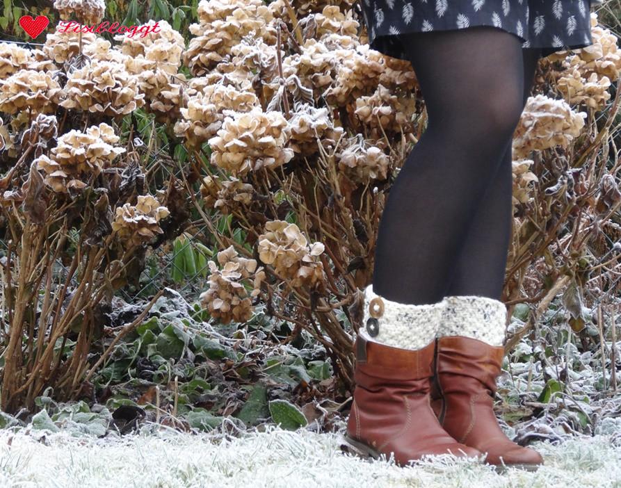 Anleitung: Stiefel-Stulpen mit Knöpfen stricken   Lisibloggt