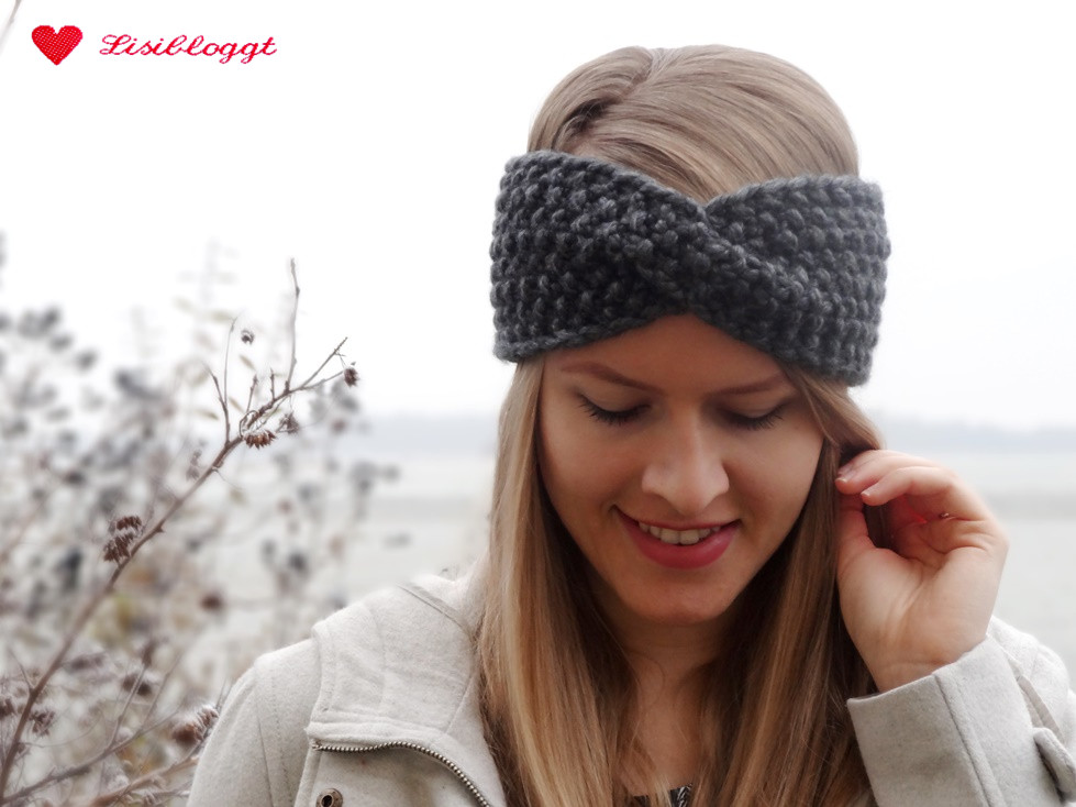 Anleitung Twist Stirnband Mit Perlmuster Stricken Mit Video