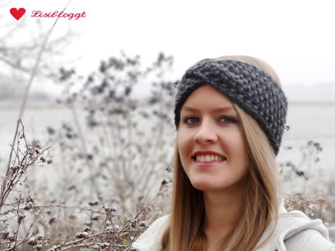 Anleitung: Twist-Stirnband mit Perlmuster stricken (mit Video)