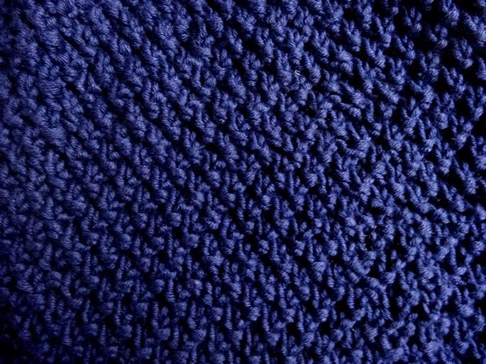 anleitung dunkelblaue strickbeanie aus baumwolle lisibloggt. Black Bedroom Furniture Sets. Home Design Ideas
