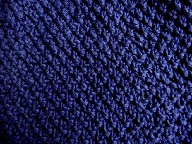 blaue strickbeanie anleitung beanie stricken perlmuster strickmuetze 5