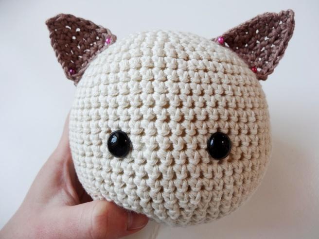 Entdeckung der Woche: Amigurumi-Kitty aus veganem myboshi-Garn