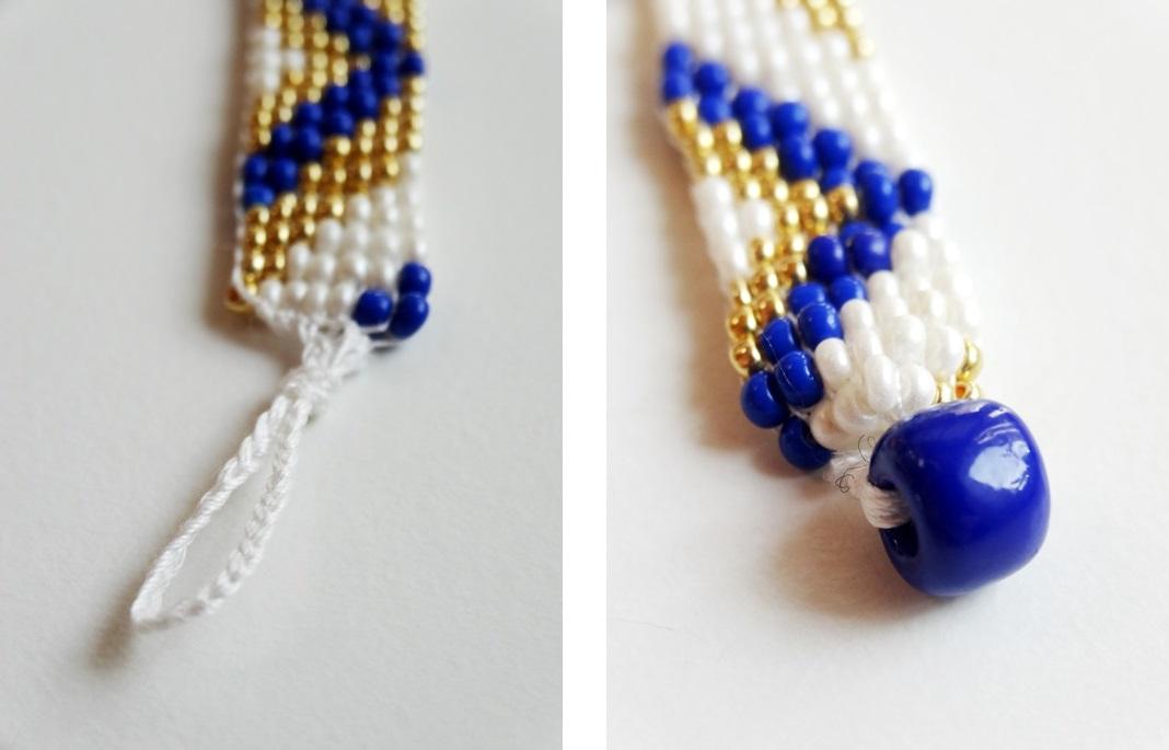 anleitung perlenarmband weben - Perlen Weben Muster