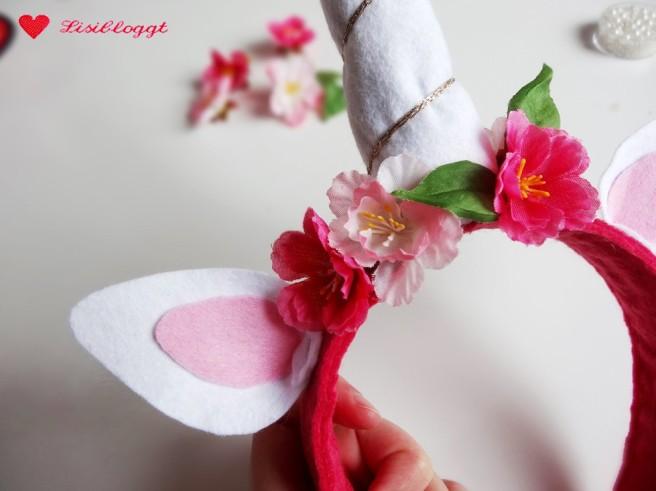 Anleitung: Magischen Einhorn-Haarreif basteln