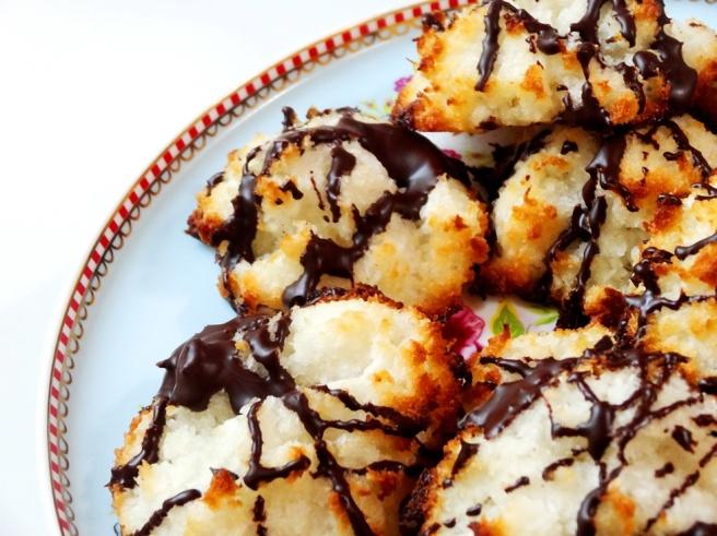 Rezept: Vegane Kokos-Makronen backen mit Kichererbsen-Sud