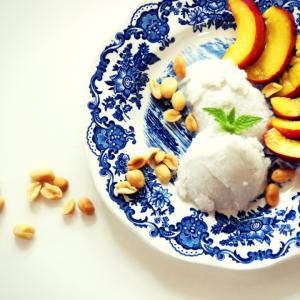 Rezept: Veganes Kokos-Eis ohne Eismaschine machen