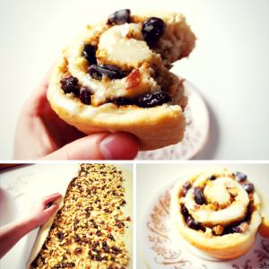 Rezept: Vegane Apfel-Nuss-Schnecken backen