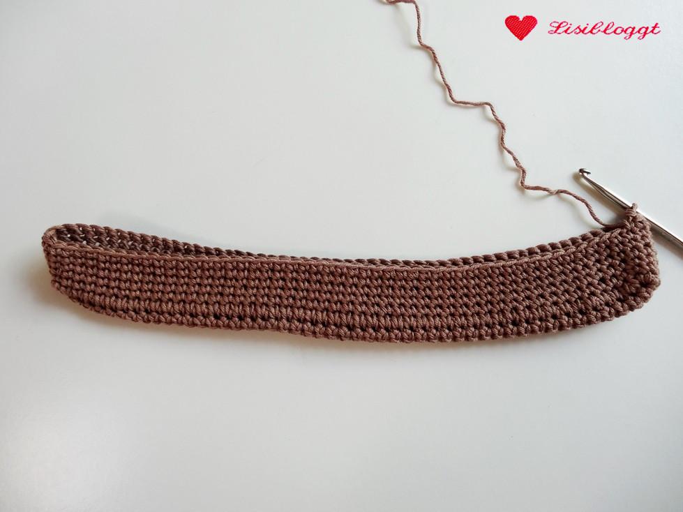Anleitung Einfache Häkeltasche Aus Baumwoll Mischgarn Lisibloggt