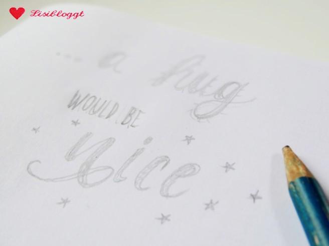 Handlettering: Porzellanmalerei mit Uniball-Stiften (Produkttest*)
