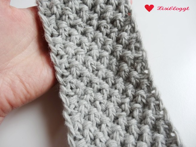 Anleitung: Stirnband mit Perlmuster und Manschette stricken