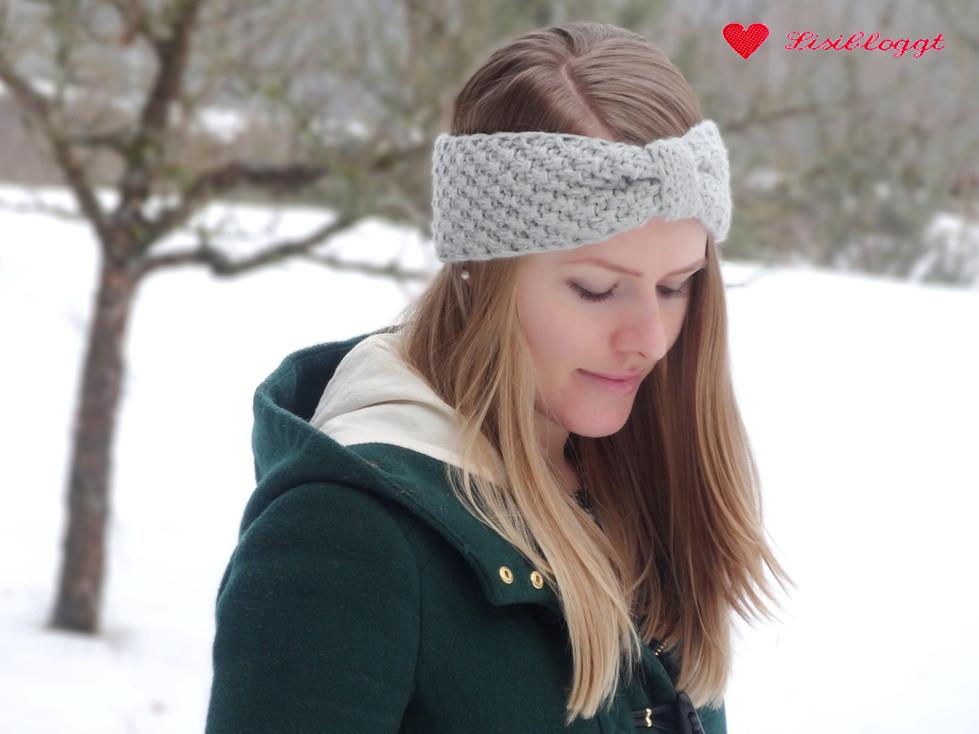 Anleitung: Stirnband mit Perlmuster und Manschette stricken | Lisibloggt