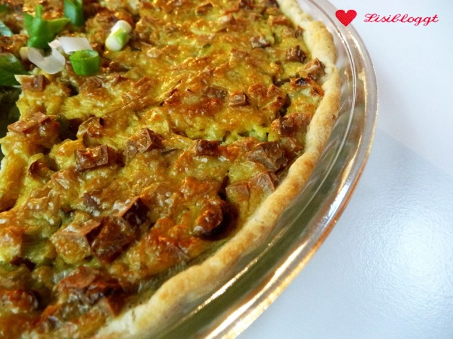 Rezept: Vegane Quiche Lorraine mit Räuchertofu