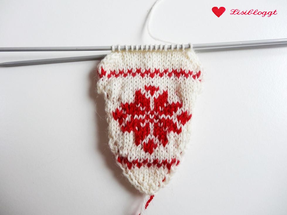Anleitung: Herz-Anhänger mit Norwegermuster stricken | Lisibloggt